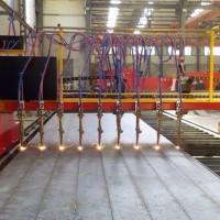 多头直条数控火焰切割机适用于钢结构企业CNC-5000LT