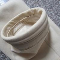 佛山滤之杰批发销售亚克力除尘布袋 中温防水针刺毡布袋