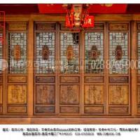 供应成都仿古门窗、中式门窗、木雕门窗;厂家直销