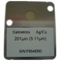 美国Calmetrics Cd/Cu型XRF用铜上镉电镀标准片