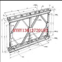 瑞隆机械贝雷片桁架厂家直销、定做异型钢结构