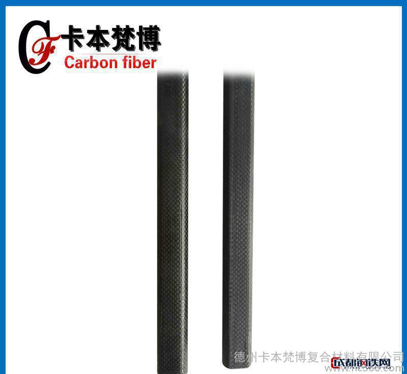 3k碳纤维扁管 高强度碳纤维方管 碳纤维复合材料管