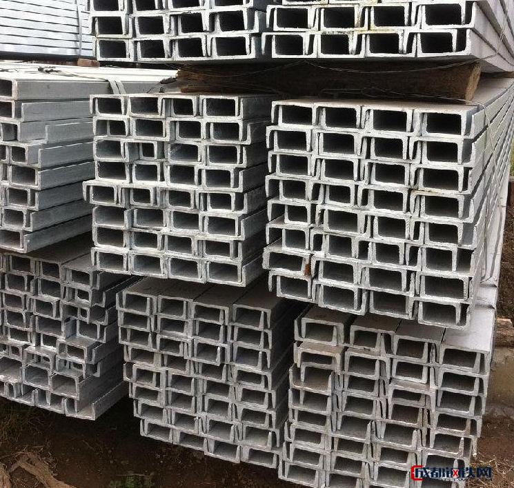 厂家直销 镀锌槽钢 热镀锌槽钢 镀锌角钢 镀锌加工