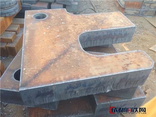 兴澄容器板 钢板切割异性件 45碳板切割