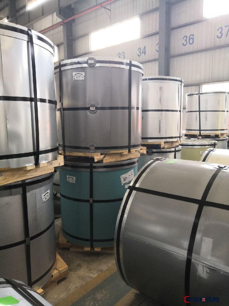 马鞍山热轧卷板等各种钢铁宝钢砖红彩涂正规厂家生产