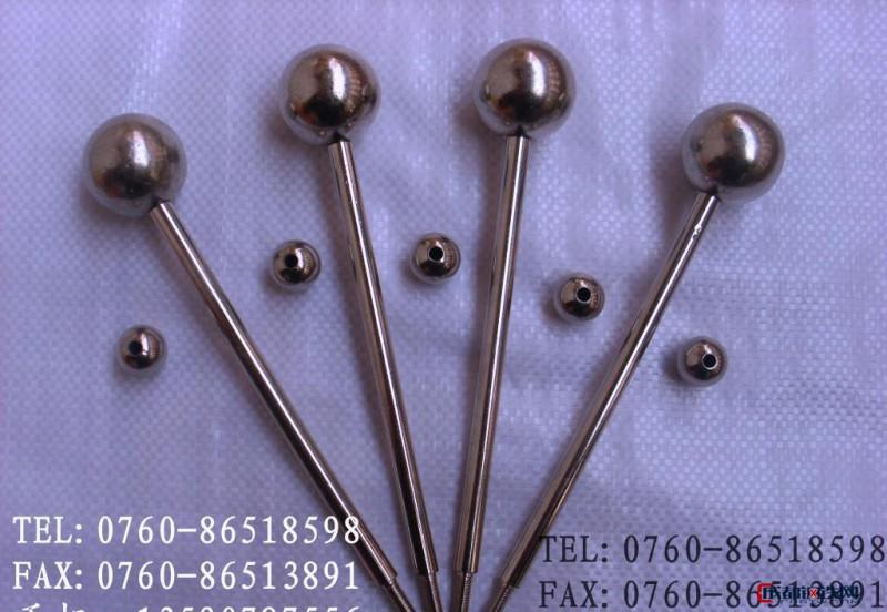 不锈钢珠1.5mm铜球钢珠切平面刚珠金球0.6mm铁球耐磨钢球轴承钢珠