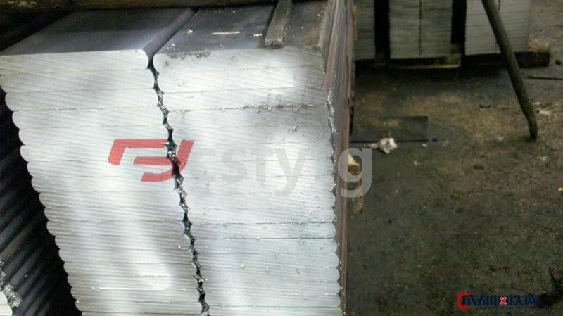 楓揚熱軋扁鋼長期銷售55crmna彈簧扁鋼