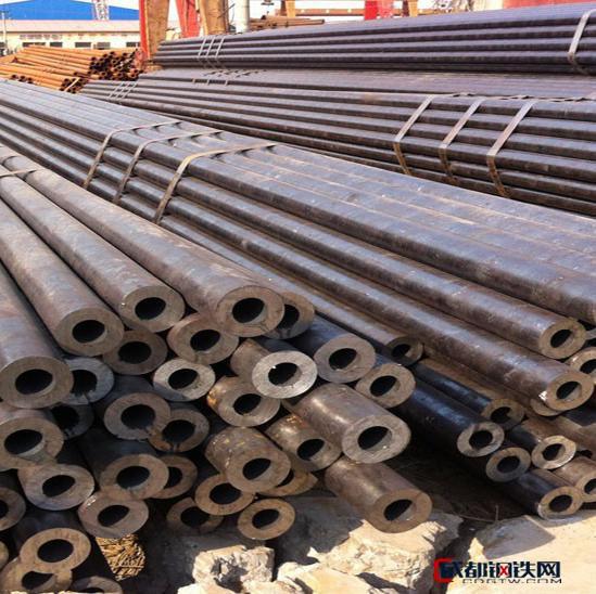 【鸿金】销售聊城热轧厚壁钢管 大口径无缝管 20#无缝钢管、可切割零售 508*55mm