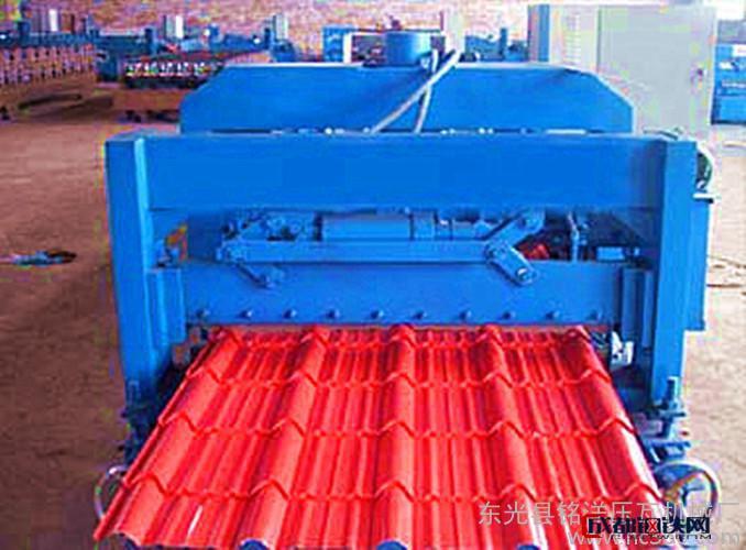 铭洋仿古琉璃压瓦机瓦系列 C型钢压瓦机  Z型钢机压瓦机价格从优