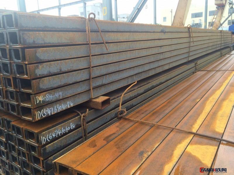 大量供应各种Q235B英标槽钢   日标槽钢特价5号槽钢
