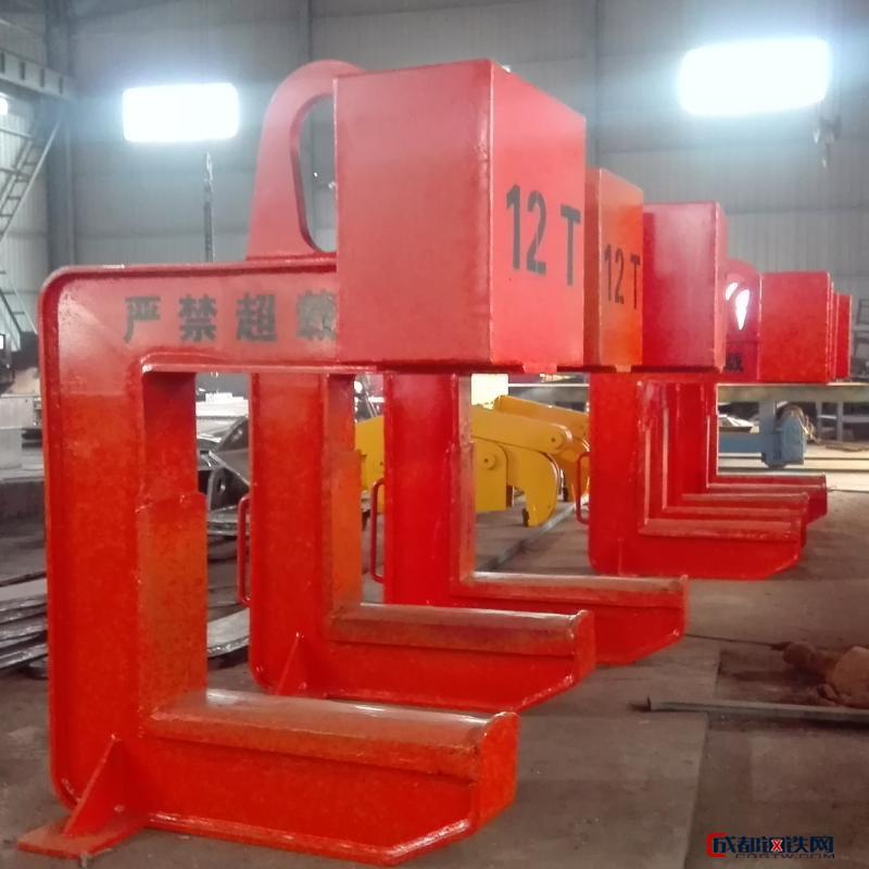 神州SW123江苏铜卷c型吊具生产厂家 镀锌卷c型吊具 合金钢c型钩钢卷吊具