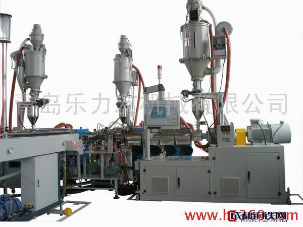 乐力友 供应乐力友牌PA尼龙合金管材机组管材生产线 塑料机械