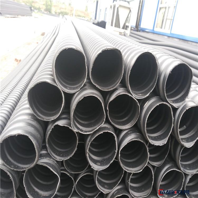 【思涵】厂家  塑料波纹管 穿钢绞线塑料波纹扁管 桥梁隧道专用