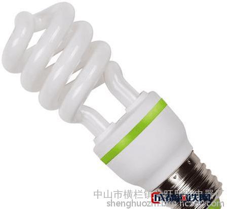 喜來旺 螺旋節能燈 中半螺節能燈  24W工藝精美   品質優良 廠家批發 螺旋管節能燈批發 螺旋管節能燈廠家