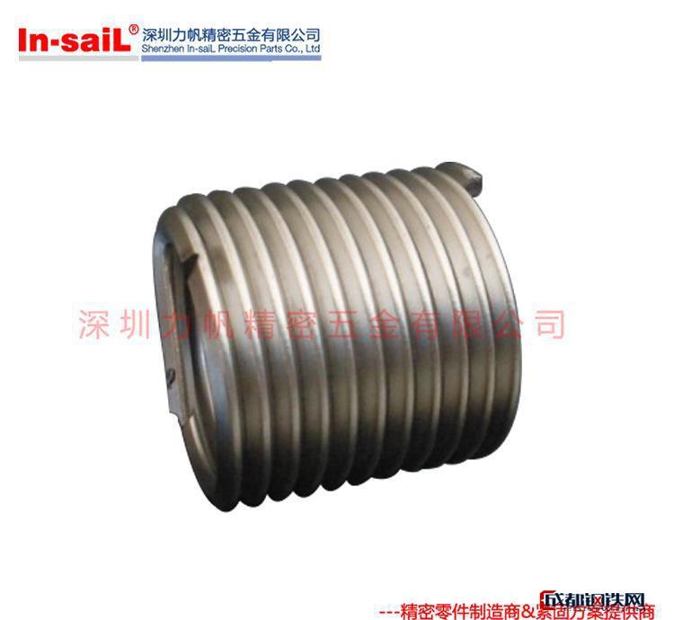 SUS304减震耐磨钢丝螺套 螺纹修复丝套 高强度内螺纹