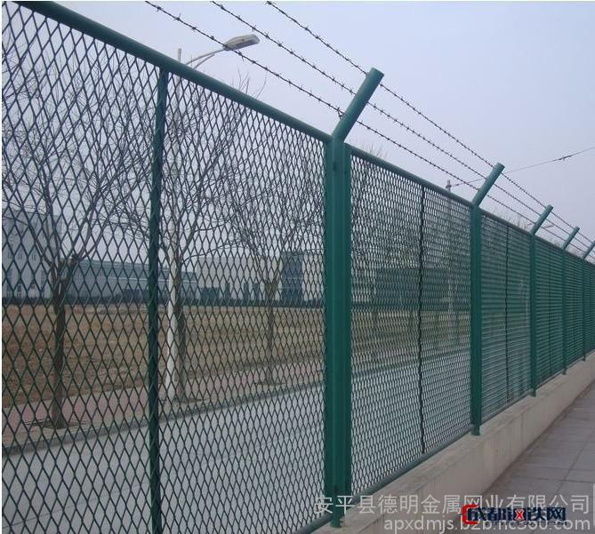 焊接型边框护栏 矩形管护栏 优质铁路 公路边框隔离栅