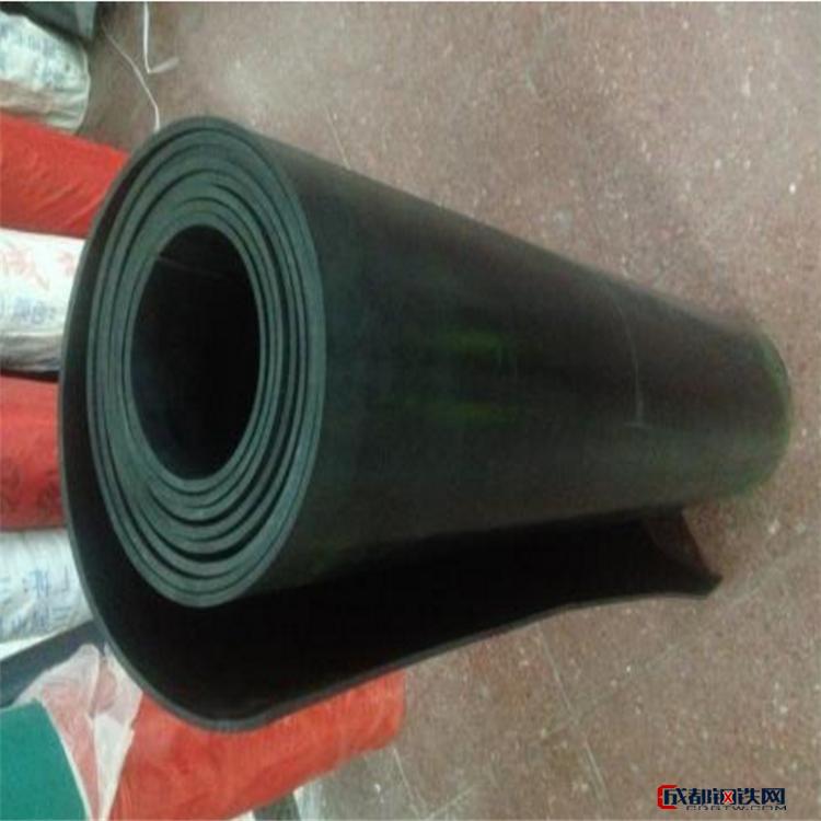 佰源定制8mm绝缘橡胶板 黑色绝缘耐磨板 耐油红色氟胶板 耐高温硅橡胶板 橡胶板价格