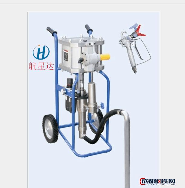 航星达HXD-6918B气动式高压无气喷涂机网架杆件喷漆机、石油管材喷漆机、氧富锌漆喷漆机、石油套管喷漆机、