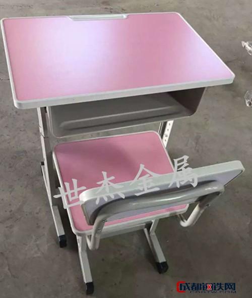 西安课桌椅C型钢制课桌椅双人课桌椅单人课桌椅学校学习桌椅批发零售