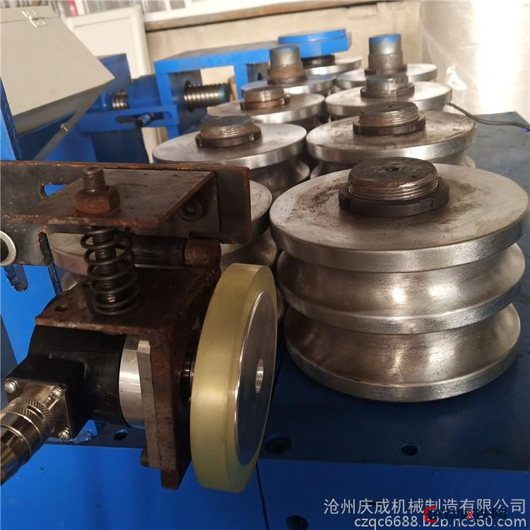 庆成厂家 圆管打圈机 160直径圆管盘圆弯弧机 自产自销