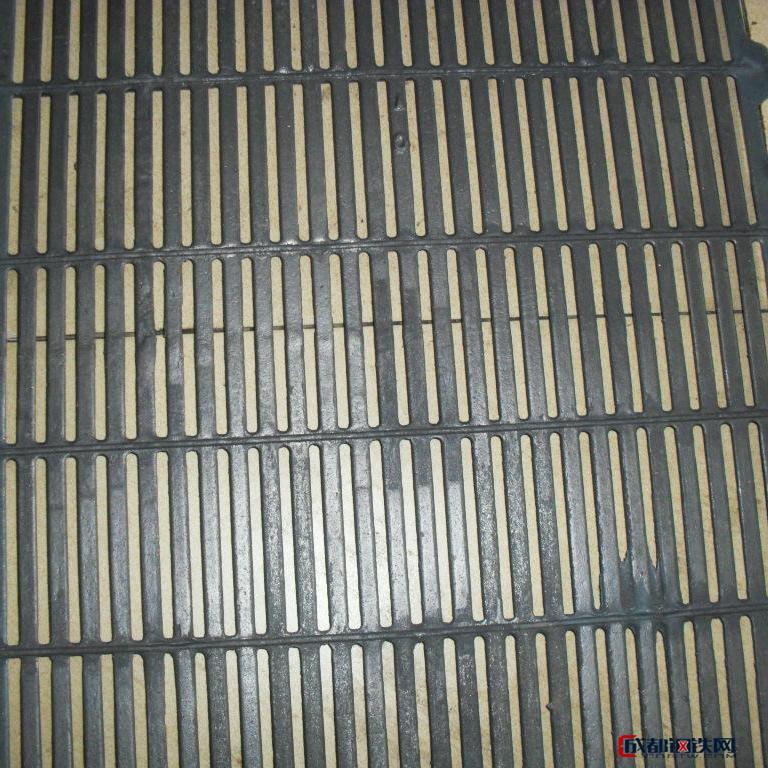 荣昌6070厘米三级螺纹钢 铸铁漏缝板 漏粪板 铸铁篦子