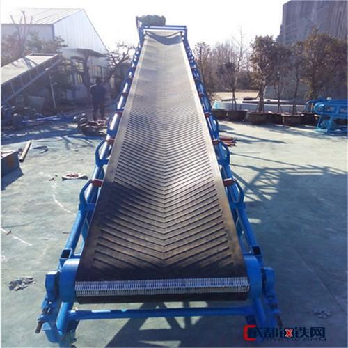 六九加工生产双升降皮带机 耐高温耐磨钢丝带输送机