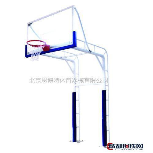 思博应单臂方管篮球架