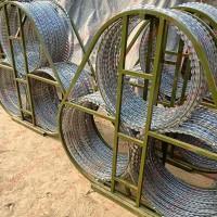 格尔木1.35米三圈滚筒式反恐防暴阻隔网路障