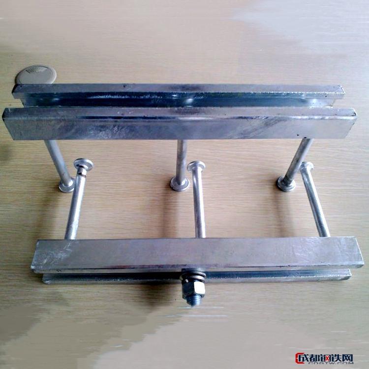 企茂 哈芬槽道 哈芬槽预埋件 C型钢预埋槽道 带齿型哈芬槽道