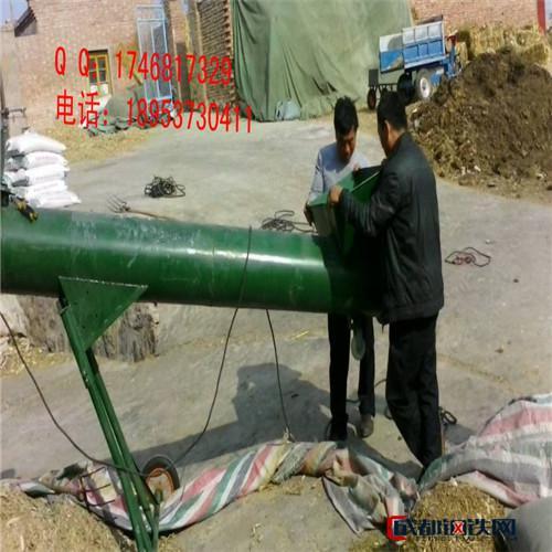 刷新螺旋提升机 标准厚度螺旋管输送机 粉末加料机f