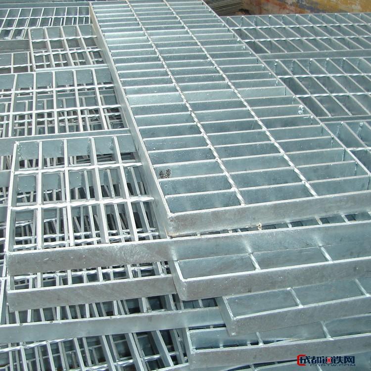 双亿  厂家直销  Q235镀锌格栅板  污水处理厂用钢格板  耐腐蚀钢格栅盖板  电厂格栅板