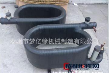 梦亿缘潜水泵 直销 空气能螺旋管换热器 空调套管冷凝器 优质套管换热器