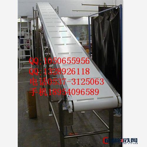 C型钢材质输送机 铝型材输送机 爬坡皮带输送机  徐
