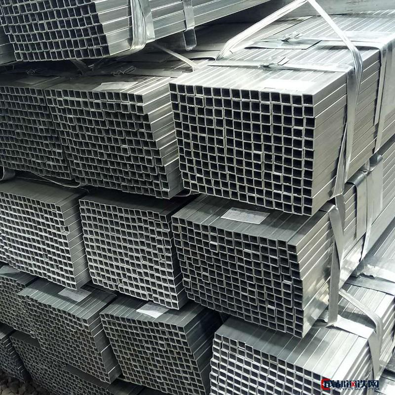 天津鑫越利钢铁 现货无缝方管 铝方管批发 镀锌带方管