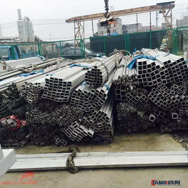 群名 304不锈钢方管冷拉工艺质量保证