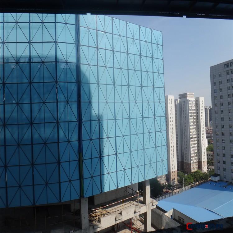 巨强 【爬架网】防腐耐磨钢制喷塑爬架网 批发建筑施工安全隔离爬架网