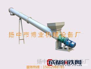 厂家直销--螺旋管式输送料机(可定制) 木托盘生产设备
