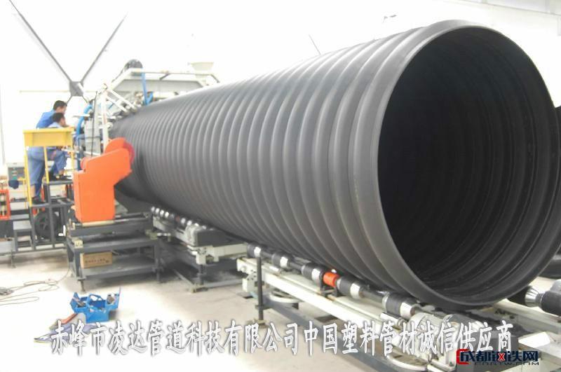 內蒙古呼倫貝爾HDPE鋼帶增強螺旋管價格合理-赤峰市凌達管道科技有限公司