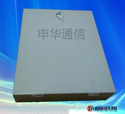 12芯光纤分纤箱冷轧板