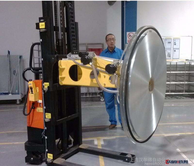 汉尔得HT500翅片机吸盘-铝卷吸盘搬运车-铜卷钢卷吸盘-坩埚吸盘-玻璃吸盘-高温吸盘-橡胶吸盘-真空吊具-anver