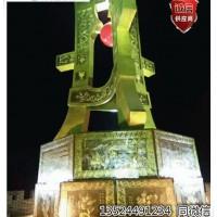 上海旅游景区五米铜雕景观 紫铜浮雕壁画