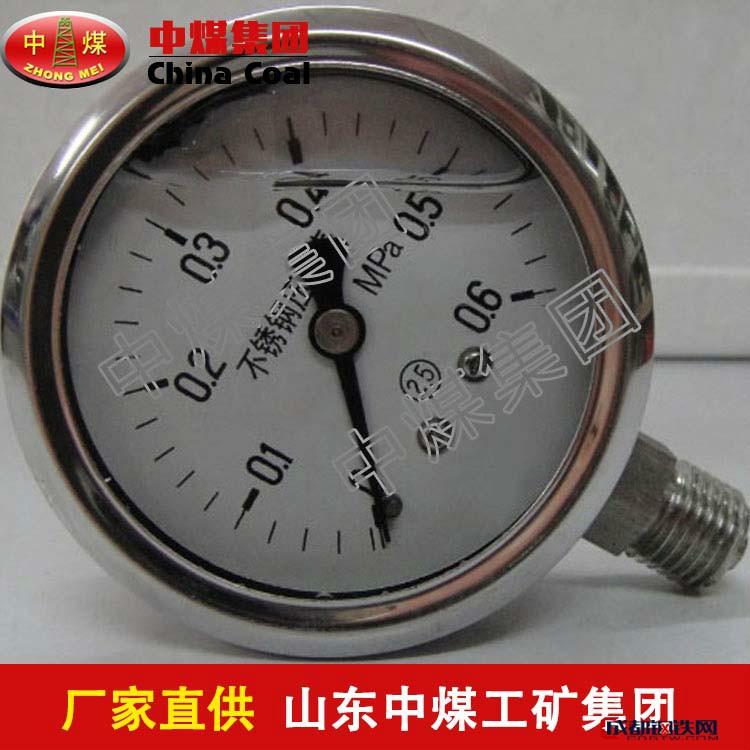 耐腐蚀不锈钢压力表耐腐蚀不锈钢压力表厂家直销
