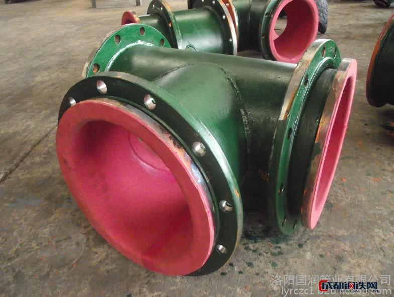 耐磨襯膠管道 鋼襯耐磨管道 選廠耐磨襯膠管