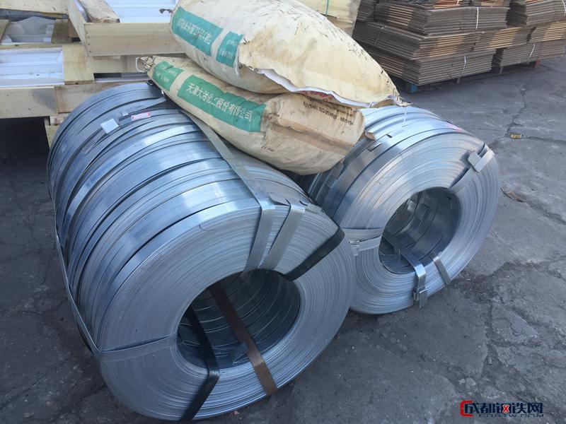 塑鋼鋼襯用鍍鋅帶鋼、連續熱鍍鋅薄鋼帶及碳素結構鋼冷軋鋼帶現貨供應圖片