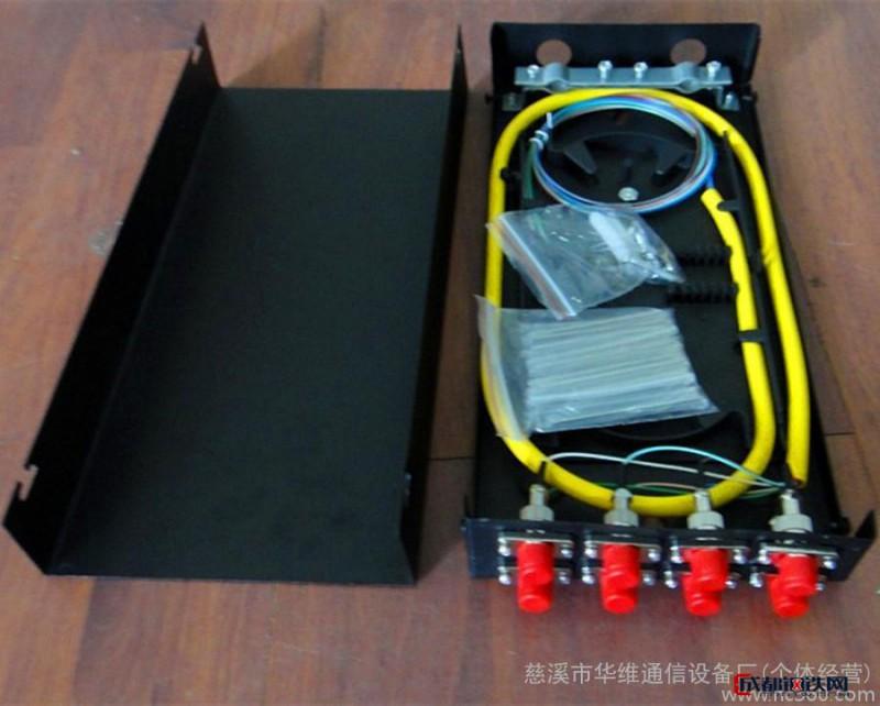 壁挂式 8口FC光缆终端盒 冷轧板光纤终端盒 厂家直销图片