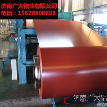 济南广大铝业 镀铝锌彩涂钢卷 有色金属板材 厂家直销 品质保证