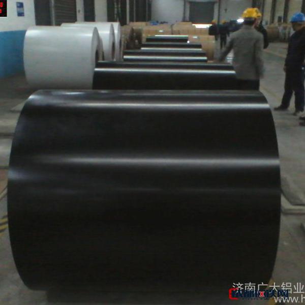 济南广大铝业 镀铝锌茶色钢卷  铝及铝锭 厂家直销 品质保证图片