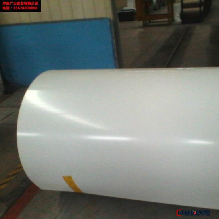 济南广大铝业 镀铝锌彩涂钢卷价格  镀铝锌 厂家直销 品质保证图片