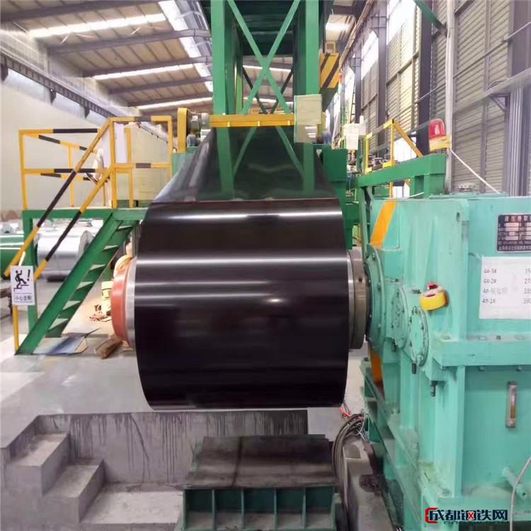 厂家现货直销彩涂卷 彩涂板 围挡/屋面隔热彩涂压型钢板 量大优惠图片