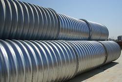 山东钢波纹涵管 钢结构管廊排水施工  量大从优